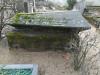 Ивановское кладбище, Рига, лето 2018 г. Памятник-гроб из черного полированного гранита.