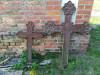 Кладбище «Kalnašu», волость Светес, Елгавский край. Металлические кресты 19 века.