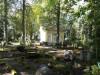 Вид на усыпальницу Покой Генриетты в летнем парке