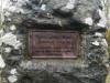 Кладбище «Katlakalna», волость Кекавас, декабрь 2019 г. Чугунная мемориальная табличка на памятнике Г. Меркелю установленна в 1869 году.