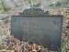 Немецкое кладбище, Тукумс, декабрь 2019 г. Чугунная табличка с накладными железными буквами.