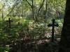 Кладбище «Bērzkrogs», волость Яунсвирлауку, июль 2019 г. Брошенное немецкое кладбище.