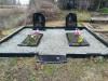 Svētes kapi, Svētes pagasts, цыганское захоронение, последствия некачественного монтажа (зима 2020)