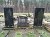 Meža kapi, Jelgava, цыганское захоронение, последствия некачественного монтажа (зима 2020)