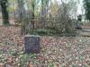 Кладбище «Vaiteņu», волость Вилцес, октябрь 2019 г. Захоронение 50-х годов. Могила и кенотаф семьи Siliņš.