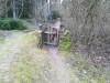 Кладбище «Gauriņu», волость Залениеку, январь 2020 г. Северная калитка кладбища.