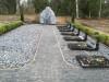 Кладбище «Gauriņu», волость Залениеку, январь 2020 г. Недавно оформленное семейное место.