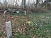 Кладбище «Gauriņu», волость Залениеку, январь 2020 г. Самое давнее из обозначенных захоронений.