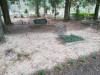 Кладбище «Gauriņu», волость Залениеку, январь 2020 г. Одно из больших мест семейных захоронений.