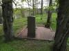 Кладбище Приедиена, г. Дурбе, май 2020 г. Тыльная сторона памятника Анны Мейеровиц.