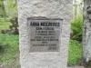 Кладбище Приедиена, г. Дурбе, май 2020 г. Эпитафия на памятнике матери З.А. Мейеровицса.