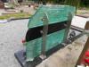 Кладбище Межа, Елгава, июнь 2020 г. Памятник из полированного стекла. Вид с тыльной стороны.