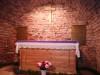 Краслава, костел св. короля Людвига IX, июль 2020 г. Внутренний вид усыпальницы графов фон дем Брёле-Плятеров.